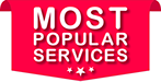 Our most popular services